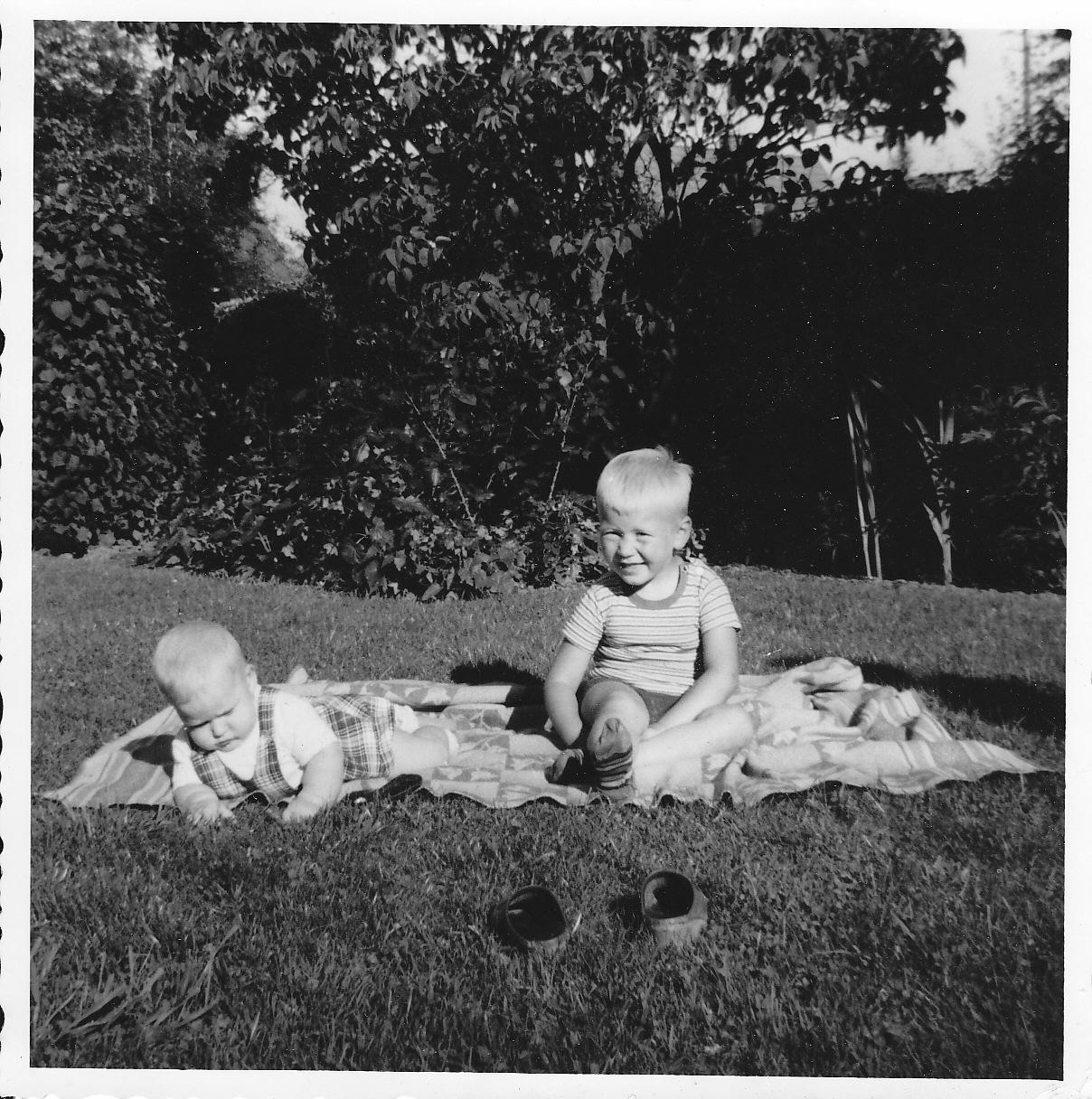 Johnny Lindkvist och jag